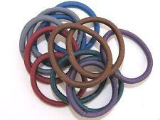 Dark Colour Snag Free Hairband Hair Elastics Bobbles No Metal