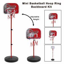 Basketball Stand Indoor Outdoor Usage Mini Adjustable Children Game Plastics