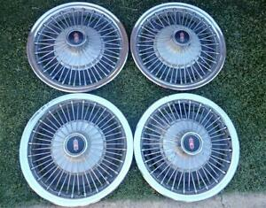 1960's Oldsmobile Wire Wheel Covers 1960's Cutlass F85 442 Olds Wheelcovers WOW!