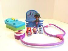 Disney Junior Doc McStuffins Figures Toy Lot Hallie Chilly Engine 9 Stethoscope