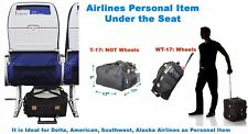 BoardingBlue Spirit Airlines Personal Item Under Seat Bag 17x13x9 No Wheels NEW