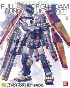 Bandai Hobby MG Full Armor Gundam Thunderbolt Ver. KA MG 1/100 Model Kit USA