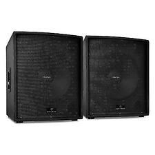 "Auna HIFI Professional Passive DJ PA Speaker Stackable 18"" Subwoofer 2500w RMS"