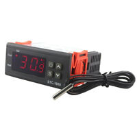 AC/DC 12V Dual Digital PID Temperature Controller Thermostat