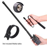 SMA Female Antenna Walkie Talkie Dual Band Outdoor Radio For Baofeng UV-5R/82