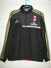 AC MILAN 2013-14 ADIDAS TRACK JACKET SOCCER SIZE S (36/38)