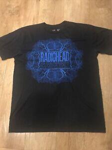 Radiohead Tour T Shirt 2012 Via Stalingrado 81 Bologna Italy Large W.A.S.T.E