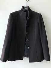 David Lawrence Brown Wool and Cashmere Mix Jacket / Coat Sz 8