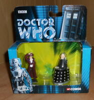 Corgi BBC Doctor Who Collection 40th Anniversary Set TY 96104 Dr Who & DAVROS