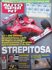 Autosprint n°8 2000 Tutto sulla Minardi M02 - Ferrari F1-2000 [P18]