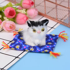 Cute simulation plush sleeping cat stuffed doll kids gift photo prop cat toysPVT
