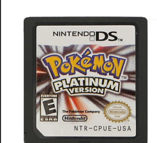 Pokemon Platinum Version Game Card For Nintendo 3DS NDS DSI Gift