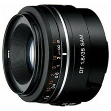 USED Sony SAL35F18 DT 35mm F1.8 SAM Lens For A-Mount Japan Import With Tracking