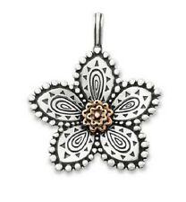 James Avery Beaded Festive Flower Pendant