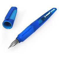STABILO Easy Buddy Handwriting Fountain Pen – Medium Nib (M) – Blue Barrel