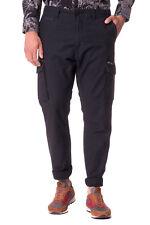 RRP €180 DIESEL Size 32 Men's P-ARGO RNAGU Faded Effect Gusset Cargo Trousers