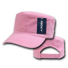 PINK Washed Cotton MILITARY ARMY CADET HAT Patrol Fatigue BDU Castro Cap