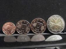 1 + 2 + 5 Cents + 2 euro Malta 2013 * ** Unc