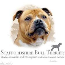 Staffordshire Bull Terrier Dog Heat Press Transfer for T Shirt Sweatshirt #912b