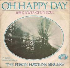 "Edwin Hawkins Singers Oh Happy Day  Italy 45 7"" sgl +Pic Slv"