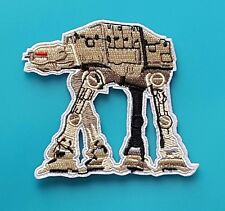 ECUSSON (PATCH)BRODE/ THERMOCOLLANT / STAR WARS AT-AT IMPERIAL WALKER / 9 X 8 CM