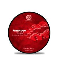 "Lather Bros. Amoroso ""Lovable"", 4 oz Shave Soap"