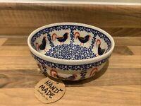 Cereal Bowl Ø15cm - Handmade Polish pottery Boleslawiec