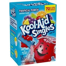 Kool Aid Singles Tropical Punch Drink Mix