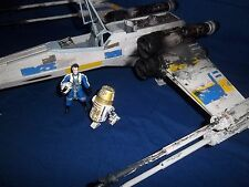 Custom Blue Two X-Wing Fighter, Torius Chord & R5 Droid 2002 Saga - Rogue One