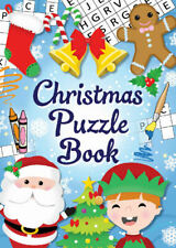 12 Christmas Puzzle Books - Pinata Toy Loot/Party Bag Fillers Childrens/Kids