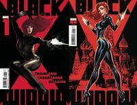 Marvel Comics Black Widow #1 Adam Hughes Main+J.Scott Campbell Variant NM 9/2/20