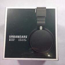 UrbanEars Zinken Black Wired Headphones with Slusen DJ Adapter Tomato Brand New