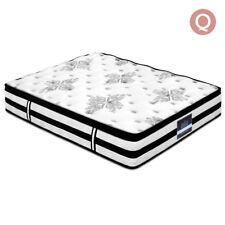 Giselle Bedding Euro Top Mattress, Size Queen - White