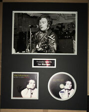 SIGNED VAN MORRISON 20x16 1967 NEW YORK SESSIONS MOUNTED DISPLAY RARE AUTHENTIC