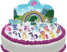 Cakeshop PRE-CUT My Little Pony Edible Cake Scene - 27 pieces