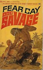 DOC SAVAGE #11: FEAR CAY  by Kenneth Robeson - 1stPaperback Printing