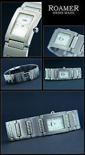 "Square Roamer Women's Watch "" Dreamline IV "", Stainless Steel, White, Sporty"