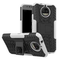 Carcasa híbrida 2 piezas EXTERIOR BLANCO Funda para Motorola Moto G5S Cubierta