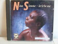 CD ALBUM NINA SIMONE Let it be me 831437 2 Live at Vine ST.