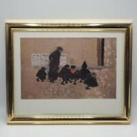 "Vintage Framed Print Pierre Bonnard, ""Children Leaving School"""