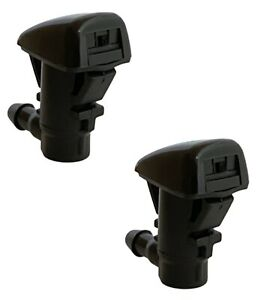 2 x Windshield Water Washer Spray Nozzle for 2005 thru 2018 JEEP Grand Cherokee