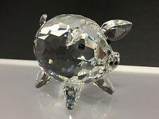 Swarovski Figur Schwein Groß ! 7,5 cm. Top Zustand !