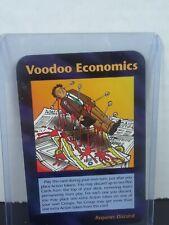 "ILLUMINATI CARD ""Voodoo Economics "" New World Order Card Game"