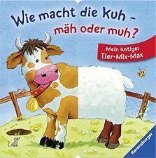 Comment fait la vache-Faucher ou meuh? ** MON Drôle Animal-Mix-Max ** Ravensburger