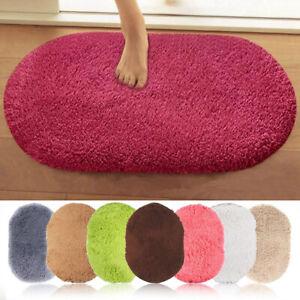 Microfiber Absorbent Non-slip Shaggy Floor Carpet Bath Mat Rug Door Mat Bathroom