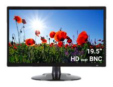 "Full HD Display Monitor Security Camera System 19.5"" Inch 1080P Analog BNC HDMI"