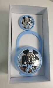 Disney Set Box e Porta Ciuccio Topolino Bimbo Bambino Neonato D 1224