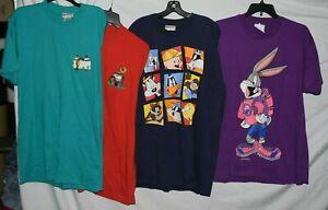 4  Looney Tunes XXL 2X T Tee Shirts daffey tweetie taz sylvester unisex