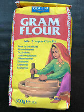 EastEnd Gram Flour Besan 500g Spices Indian Chickpea Milled from Pure Chana Daal