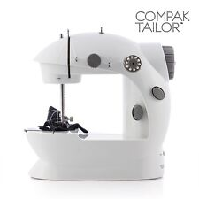 MACHINE À COUDRE PORTABLE COMPAK TAILOR 220/110 - PRIX OFFICIEL : 50 EUROS
